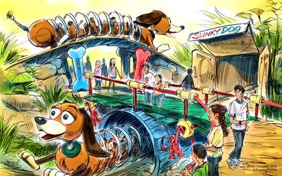 DHS Slinky Coaster