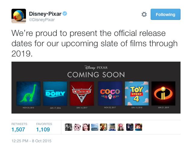 Pixar release 2