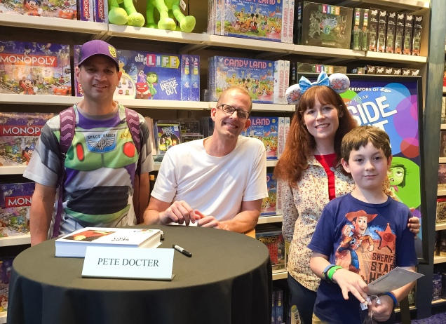 Pete Docter Disney Springs