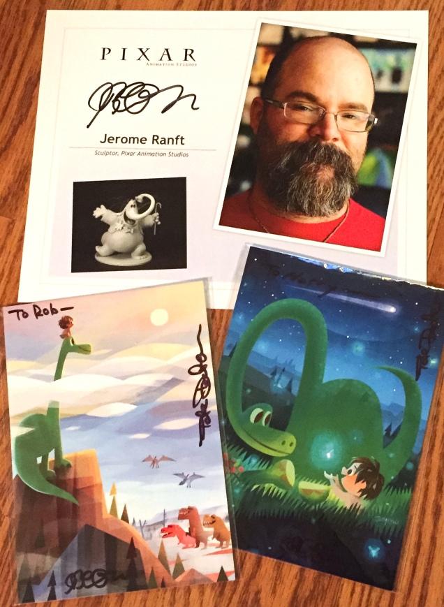 Pixar Autographs
