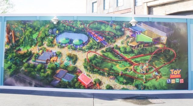 Toy Story Land Revised