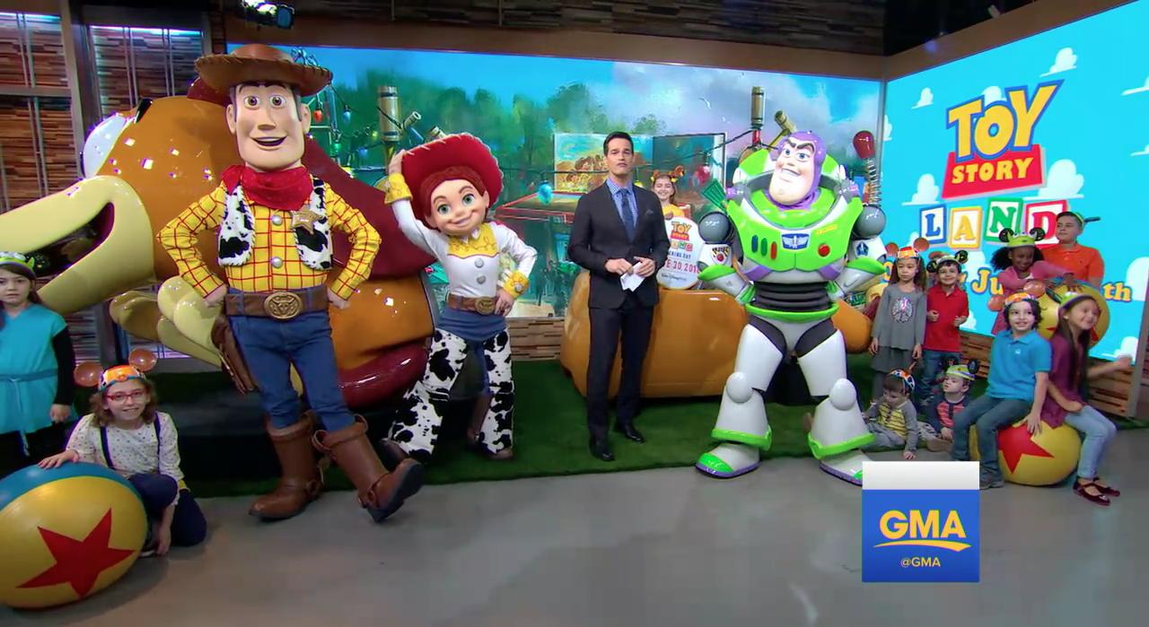 Disney Magic Band Pixar Toy Story Land Walt Disney World 2018 Woody Buzz Jessie