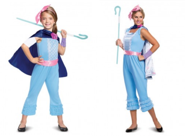 Toy Story 4 Halloween Costumes.Disguise Costumes For Toy Story 4 Provide New Character Clues