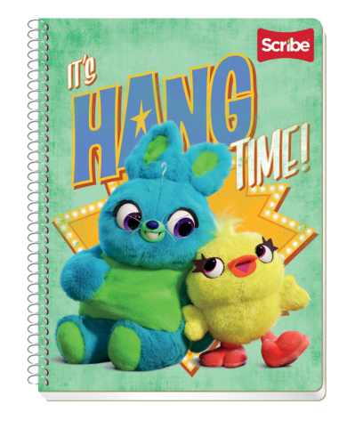 Toy Story 4 Notebooks Feature New Characters