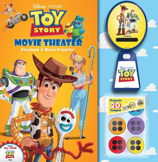 New 'Toy Story 4' Book Covers