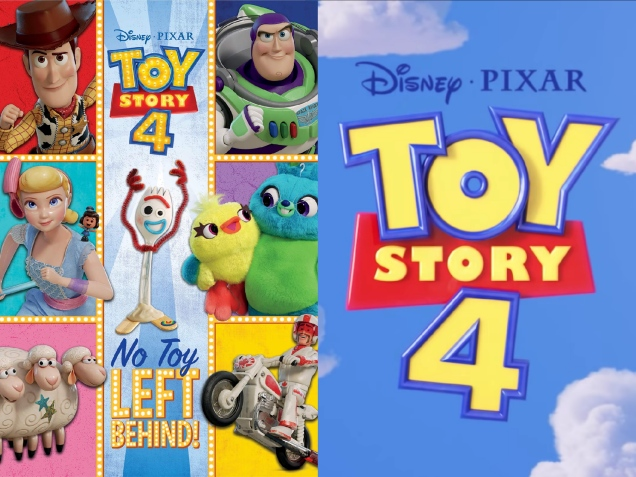 Even More 'Toy Story 4' Book Covers Added on Amazon