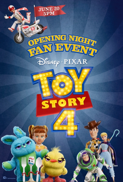'Toy Story 4' Movie Tickets Now on Sale